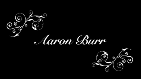 Thumbnail for entry Aaron Burr