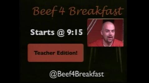 Thumbnail for entry B4B - Teacher Takeover 11.14.14