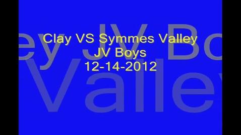 Thumbnail for entry 12-14-2012 Boys vs Symmes Valley