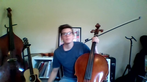 Thumbnail for entry Week 4: 3rd Grade Cello Lesson