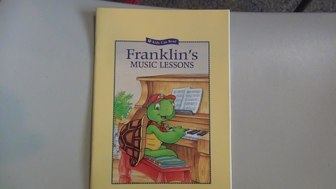Thumbnail for entry Franklin's Music Lessons by Paulette Bourgeois and Brenda Clark