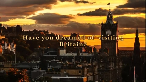 Thumbnail for entry Promo Video for Britain Educational Tour