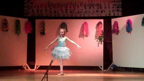 Thumbnail for entry Olivia Dancing to Beethoven's wig Integrated Arts Academy