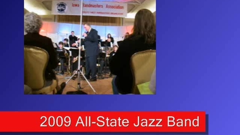 Thumbnail for entry 2009 All-state Jazz Band (5) - Red Clay