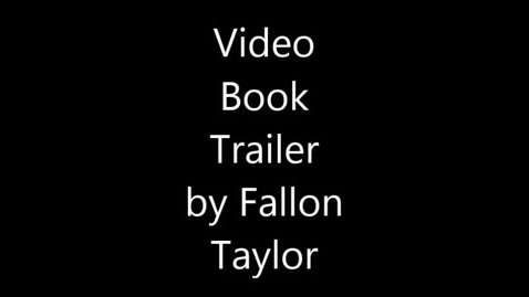 Thumbnail for entry Dirt Road Home by Watts Video Book Trailer by Fallon Taylor