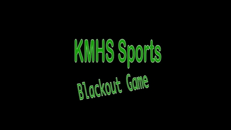 Thumbnail for entry KMHS Football Highlights