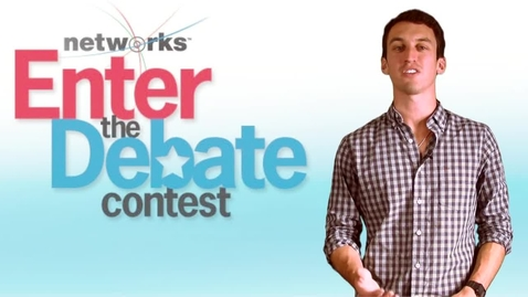 "Thumbnail for entry McGraw-Hill Networks ""Enter The Debate"" Contest"
