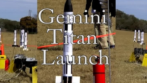 Thumbnail for entry 2010 Gemini Rocket Launch