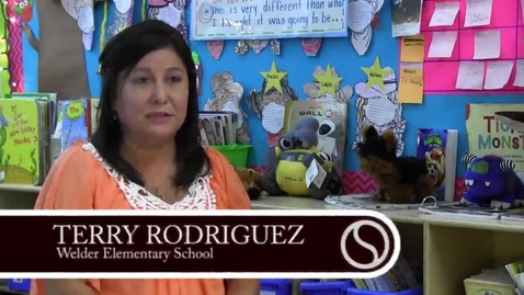 Thumbnail for entry 2015 Welder Elementary Teacher of the Year - Terry Rodriguez