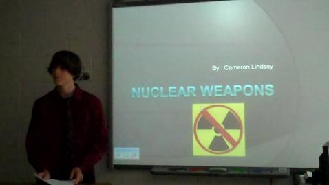 Thumbnail for entry Final Persuasive Speech for Mr. Gilbert's speech class -- Cameron Lindsey -- Spring 2012