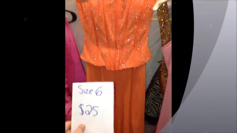 Thumbnail for entry Prom Dress Sale