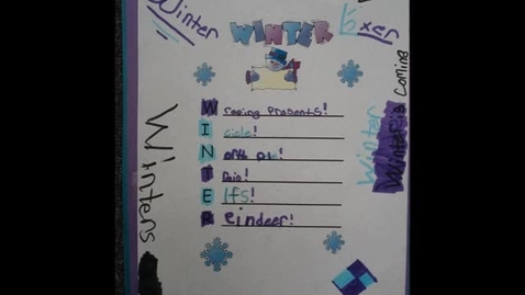 Thumbnail for entry GS Winter Acrostic