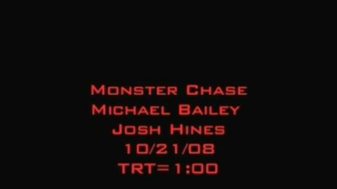 Thumbnail for entry School Monster Chase