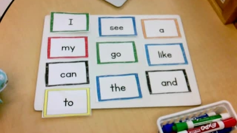 Thumbnail for entry Literacy: I Can Write Using Words