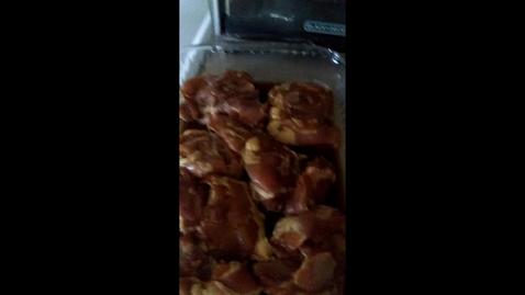Thumbnail for entry Shy, Esi, Esteban Cooking Video