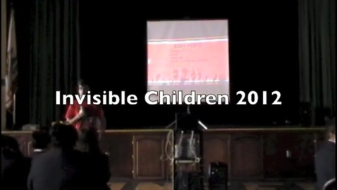 Thumbnail for entry Invisible Children 2012