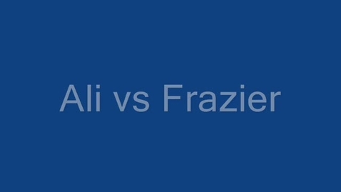 Thumbnail for entry Ali vs Frazier by Cam
