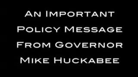 """Thumbnail for entry Mike Huckabee Ad: """"Chuck Norris Approved"""""""