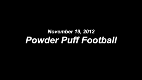 Thumbnail for entry Powder Puff 2012
