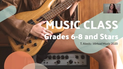 Thumbnail for entry Grades 6-8 - Lesson #1