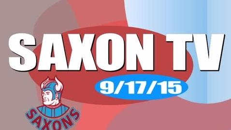 Thumbnail for entry Saxon TV091715