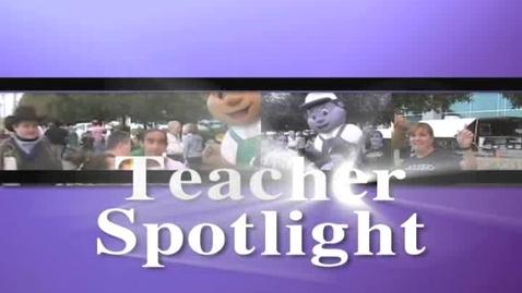 Thumbnail for entry Teacher Spotlight: Mrs. Rowe