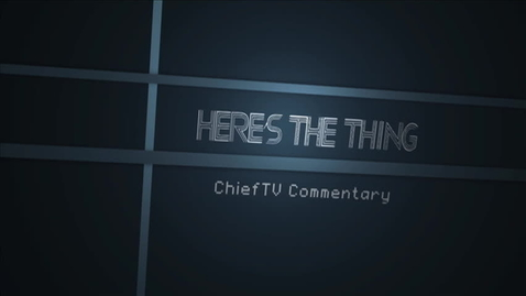 Thumbnail for entry ChiefTV Commentary - Cafeteria Courtesy Lija