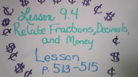 Thumbnail for entry 9.4 Lesson