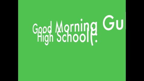 Thumbnail for entry Gulf High Morning News: 10/17/12