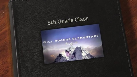 Thumbnail for entry Will Rogers Elementary 5th Grade Fine Arts Concert