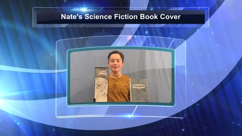 Thumbnail for entry Nate's Science Fiction Book Cover