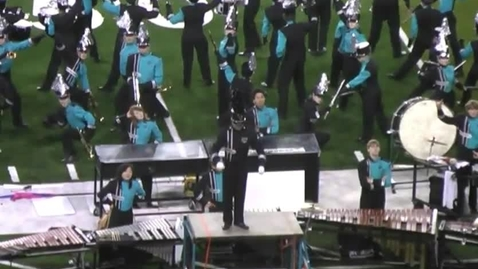 Thumbnail for entry Century HS Marching Band @ NWAPA 2010 Championship- Rock Show of the Century