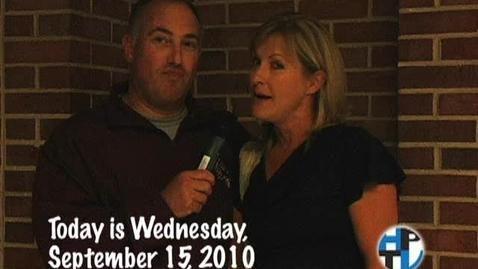 Thumbnail for entry Wednesday, September 15, 2010