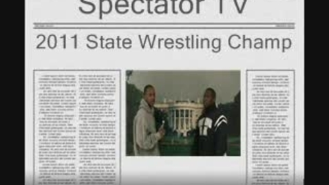 Thumbnail for entry Michigan 2011 State Wrestling Champ
