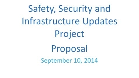 Thumbnail for entry Moravia Central School District - Safety, Security, & Infrastructure Project Proposal