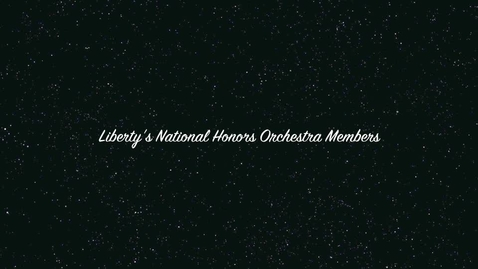 Thumbnail for entry Orchestra 2012 go national