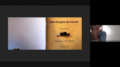 Thumbnail for entry Oso no para de roncar