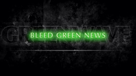 Thumbnail for entry 11-14-2016  Bleed Green News