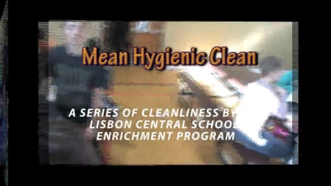 Thumbnail for entry Mean Hygenic Clean