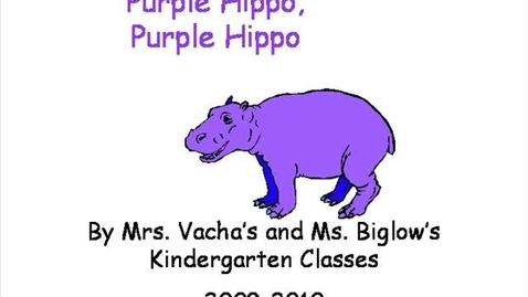 Thumbnail for entry Purple, Purple Hippo