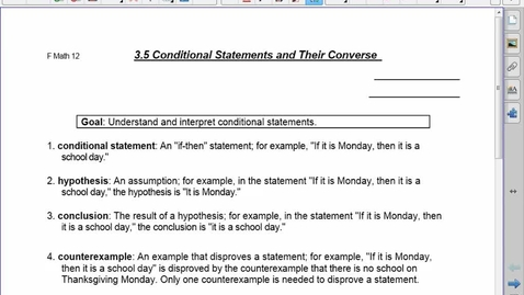 Thumbnail for entry FDN 30 3.5 Conditional Statements