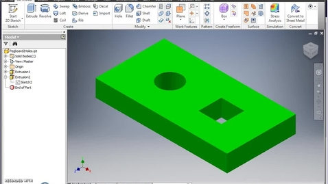 Thumbnail for entry Pegboard Modeling (2 peg holes)