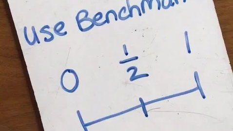 Thumbnail for entry 10-6  Compare Fractions: Benchmarks and Cross Multiply Trick