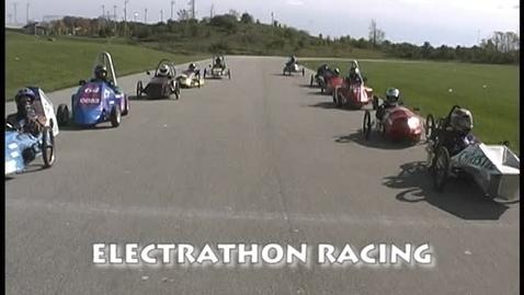 Thumbnail for entry Electrathon car racing
