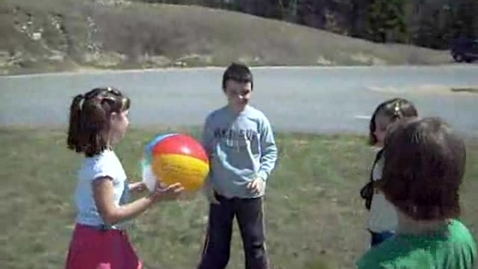 """Thumbnail for entry Sandown NORTH: """"Friends Playing Ball"""""""
