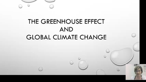 Thumbnail for entry Verez's Greenhouse effect power point