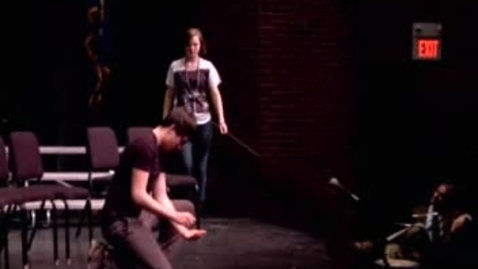 """Thumbnail for entry  Looking In Theatre Performs """"Racism Scene"""""""