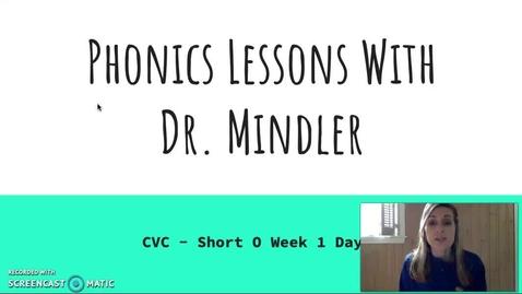 Thumbnail for entry Part 1 CVC o