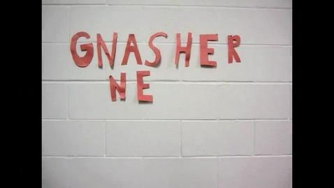 Thumbnail for entry Gnasher News Team for 051313