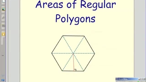 Thumbnail for entry Vocabulary for Regular Polygons